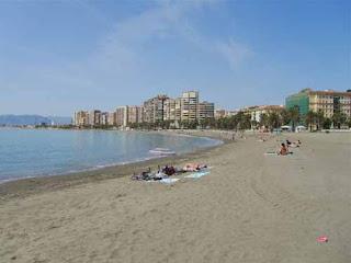 Playa de la Malagueta - Malaga, Spain