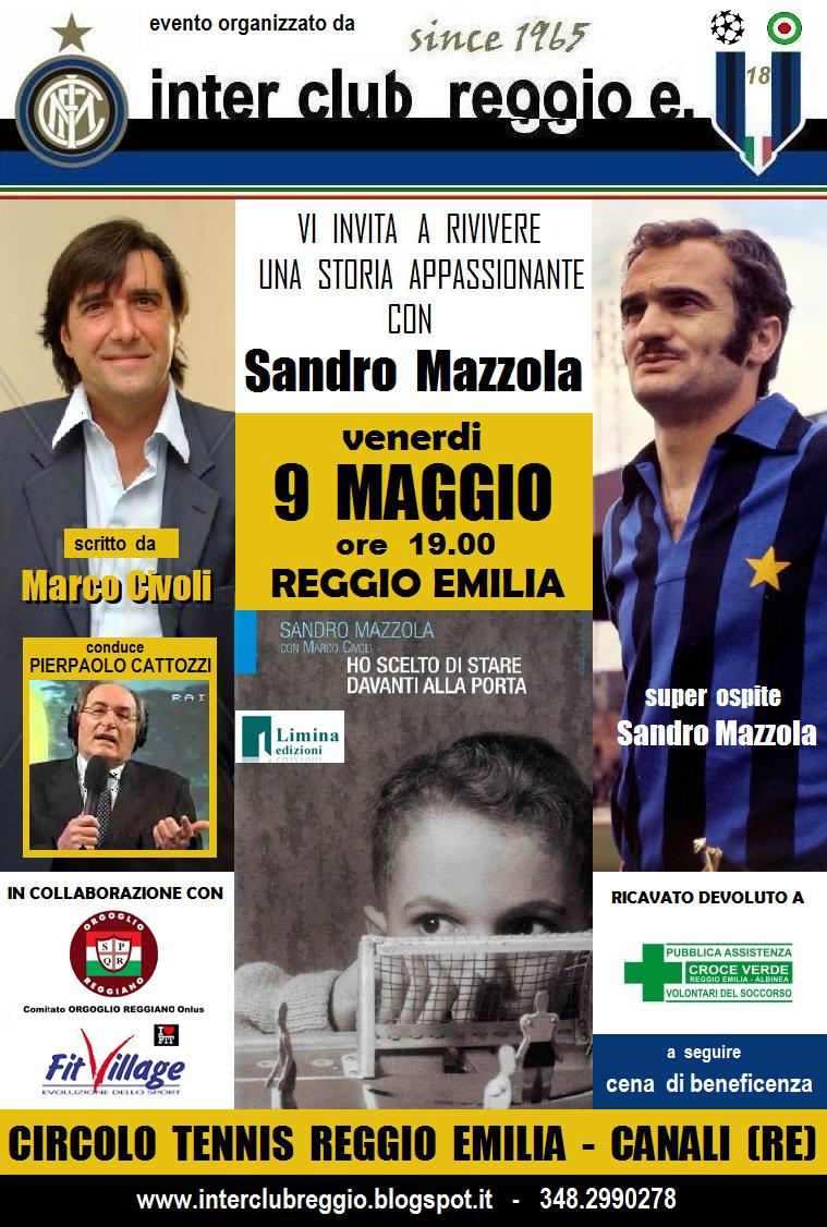 """Inter Club Reggio Emilia """"Giuseppe Meazza"""" since 1965 SANDRO"""
