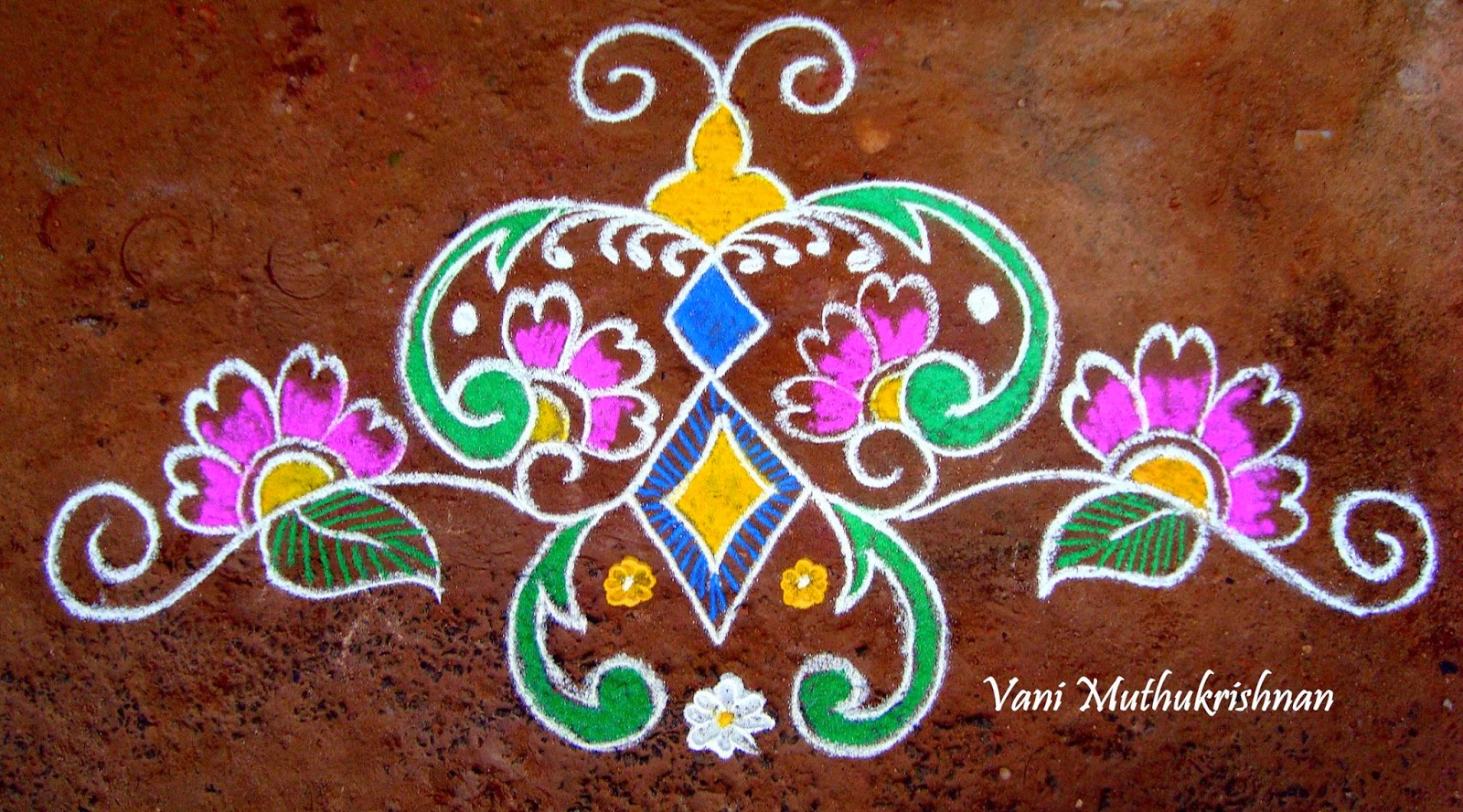 Kolam Designs 15