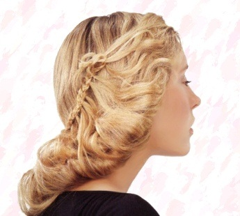 Hair Fashion Style Peinados Con Trenzas Cosidas