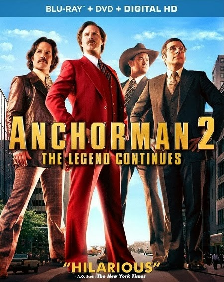 Anchorman 2 The Legend Continues 2013 UNRATED WEB DL 480p 300mb ESub