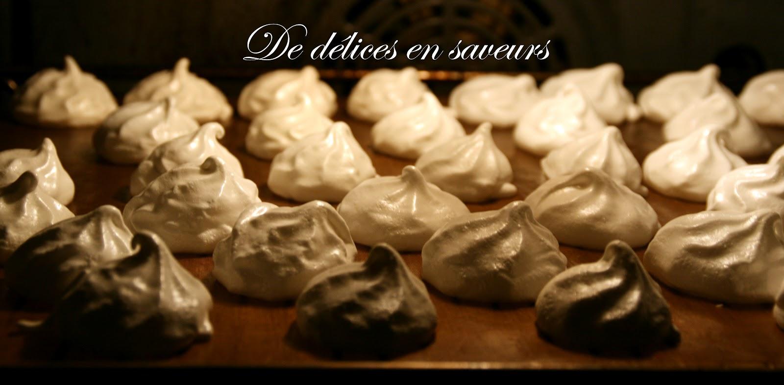 De d lices en saveurs meringues cassantes en bouche - Cuisson meringue four chaleur tournante ...