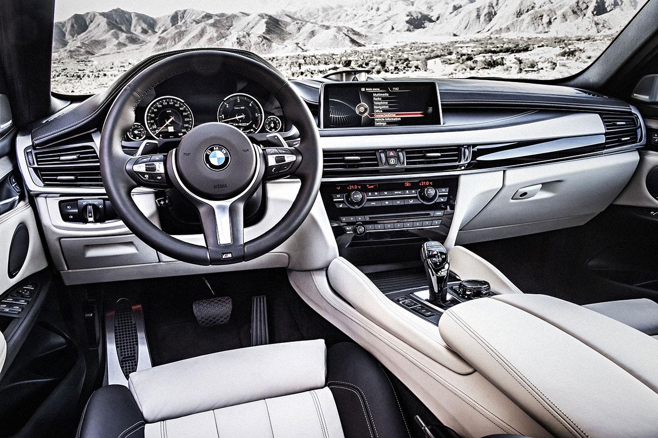 BMW X6 dash