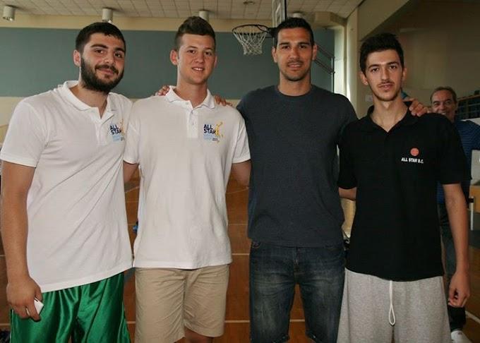 Φωτορεπορτάζ από την επίσκεψη του Νίκου Ζήση και την τελετή λήξης του All Star Basketball & Shooting-Footwork Camp του Μαντουλίδη