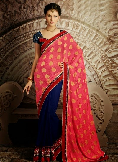 Impeccable Saree Designs
