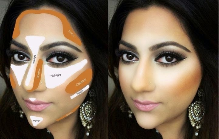 Best way to apply foundation/Base on your face tutorial pics ...