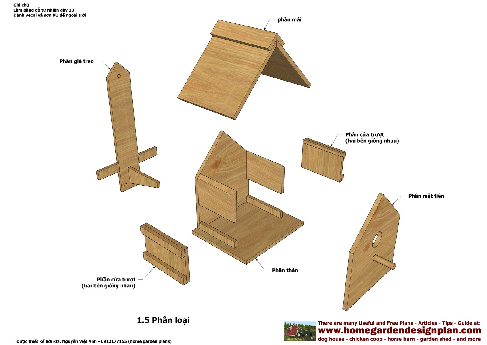Cath Easy Plans For Wood Bird Feeder US UK CA