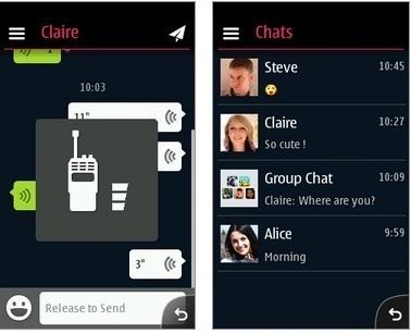 WeChat app download for Nokia Asha 501 305 306 308 309 310 311 s40 ...