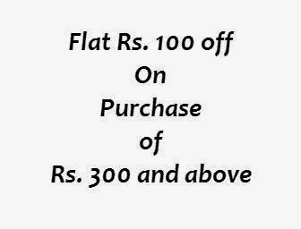 Flat Rs. 100 off on Purchase of Rs. 300 and above (Valid from 10th April) only at Groupon.