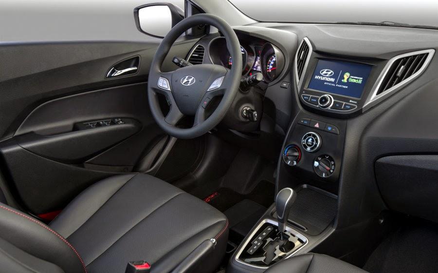 Novo Hyundai Hb20 2014 painel interno