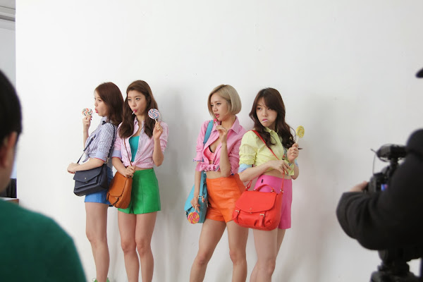 Girls Day Hazzys Backstage