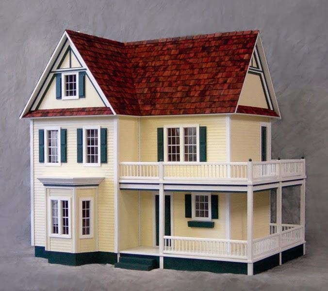 Dollhouse kits hobby lobby reasonably priced roomy for Farmhouse kit homes