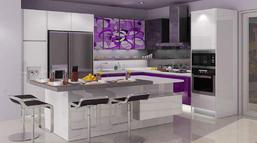 model dapur untuk rumah mewah gambar rumah idaman