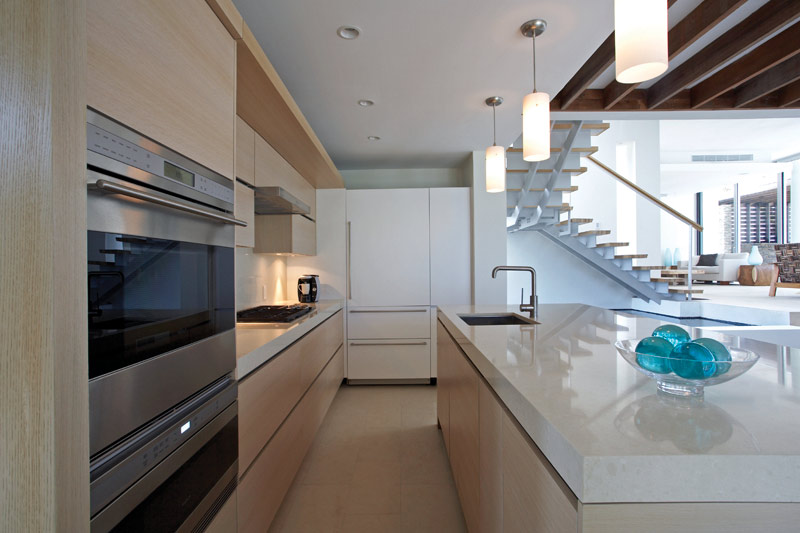 Modern Kitchen With Bright Contemporary Furniture