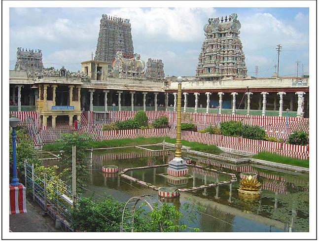 Meenakshi Temple in Madurai