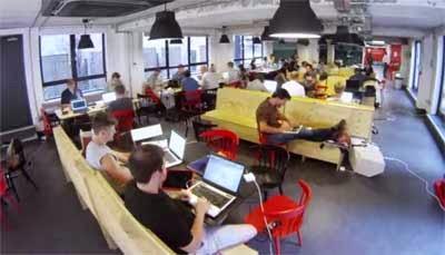 Campus de Google para emprendedores en Londres