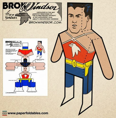Brok Windsor Papercraft
