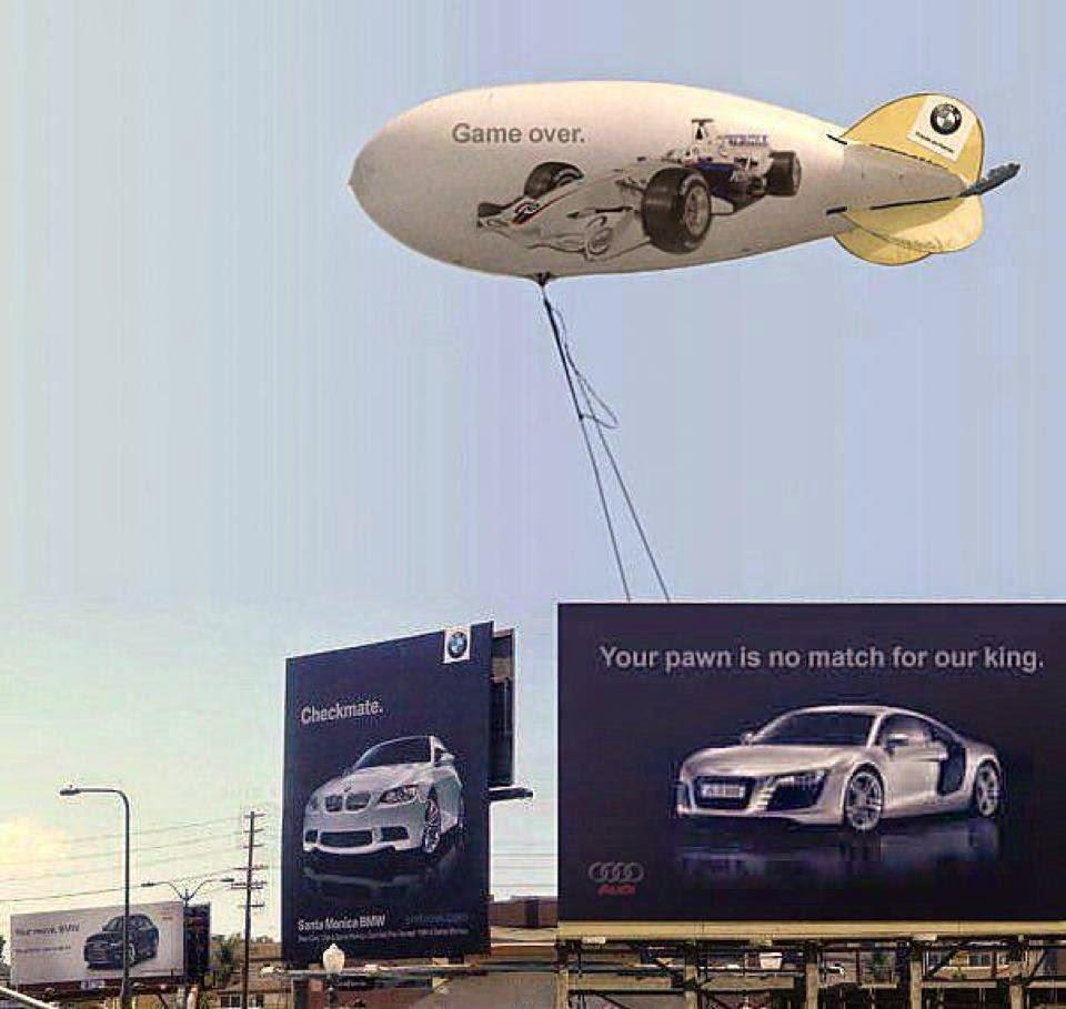 Audi, BMW, War
