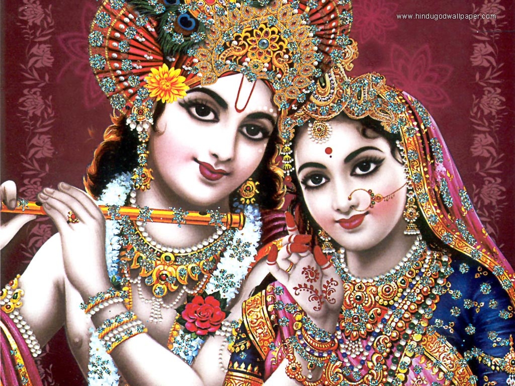 free god krishna wallpaper download