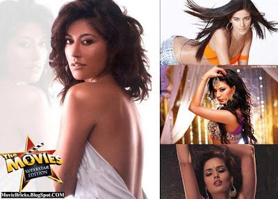 Chitrangna Singh, Poonam Pandey, Rakhi Sawant, Veena Malik, Nathalia