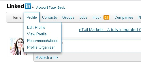 how to add follow button in linkedin profile