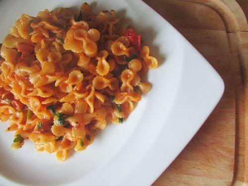 Makaron z Sosem Pomidorowym i