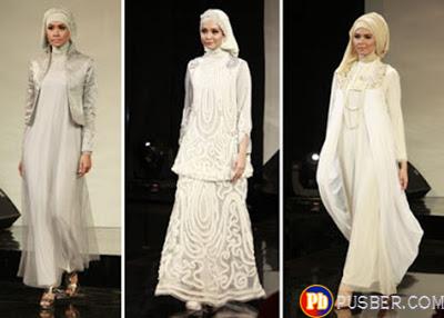 bawah ini adalah beberapa model dari Model Gaun Muslim Terabru 2013