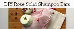 DIY Rose Shampoo Bars