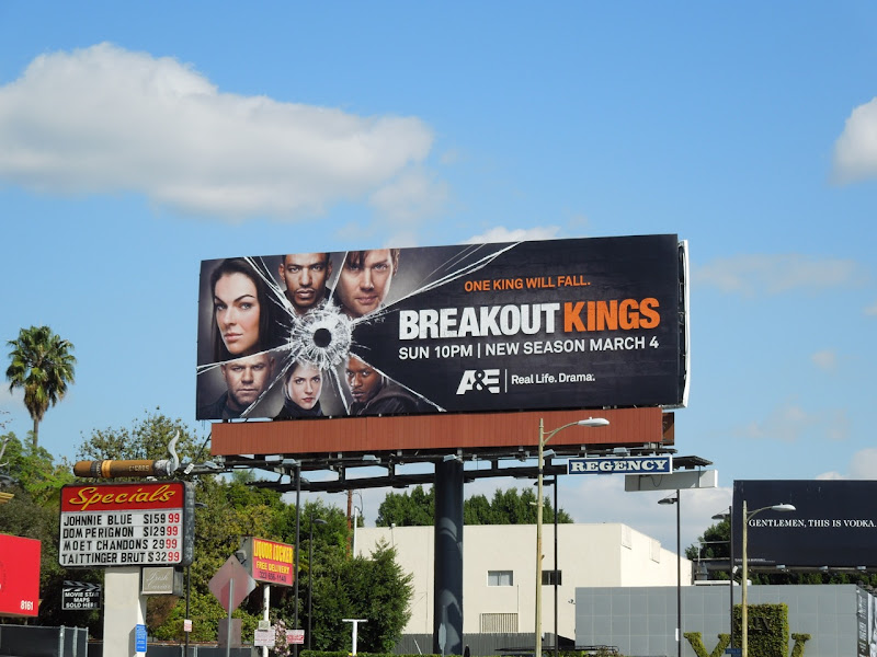 Breakout Kings series 2 billboard