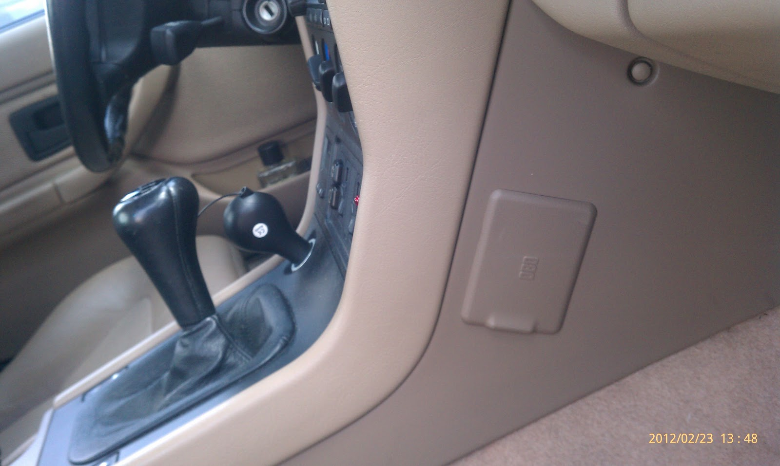 Location of the OBD Plug on a 1996 BMW Z3