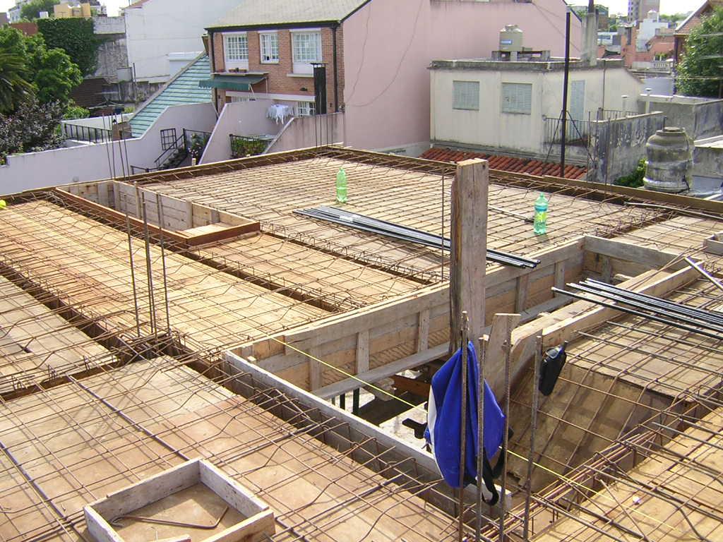 Construir tu vivienda techo pesado losa de hormig n armado for Losa techo