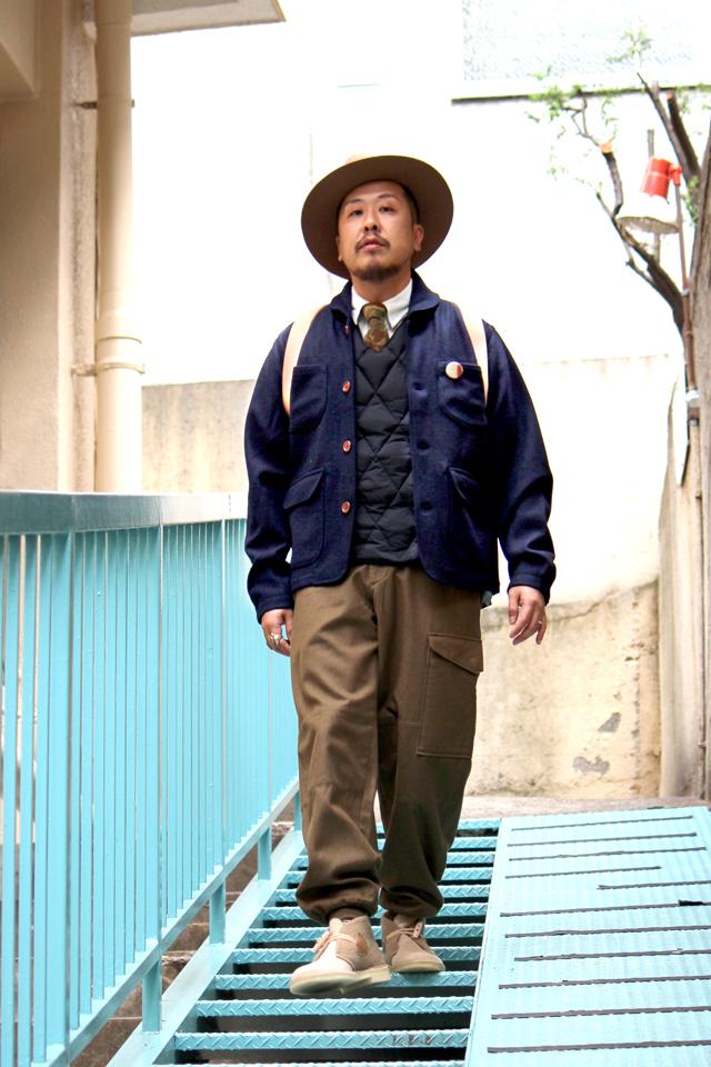 Universalworks 14fw 14aw lobourjacket thehillside necktie comfy nigelcabourn nisushotel