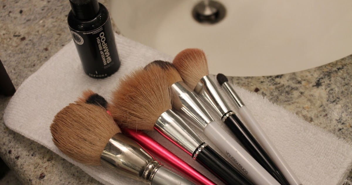 how to clean your makeup