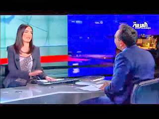 بالفيديو .. العطسة التي هزت استديو قناة العربية !!!!