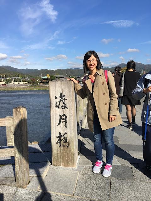 kyoto arashiyama togetsukyo bridge