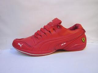toko puma ferrari, sepatu puma ferrari merah