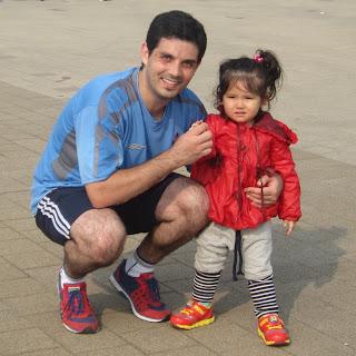 Felipe con Sonia al terminar la carrera