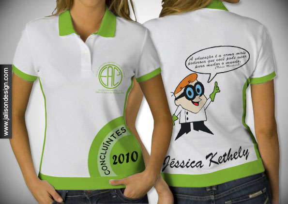 Camisa   Escola Munil Antonio Carlos De Paiva   Concluintes 2010
