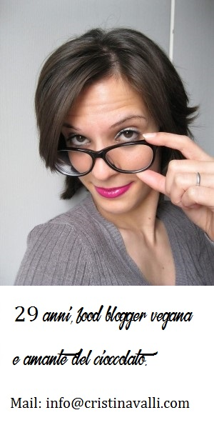 La blogger: Cristina Valli