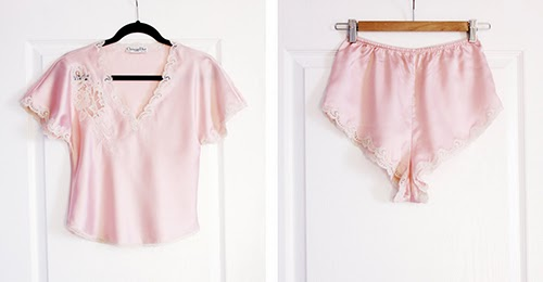 vintage christian dior lingerie set new to my etsy shop