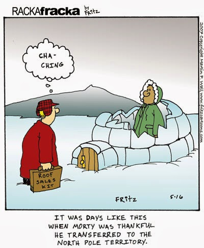 Sales Joke Of The Day Sales Cartoon March 30 The Cold