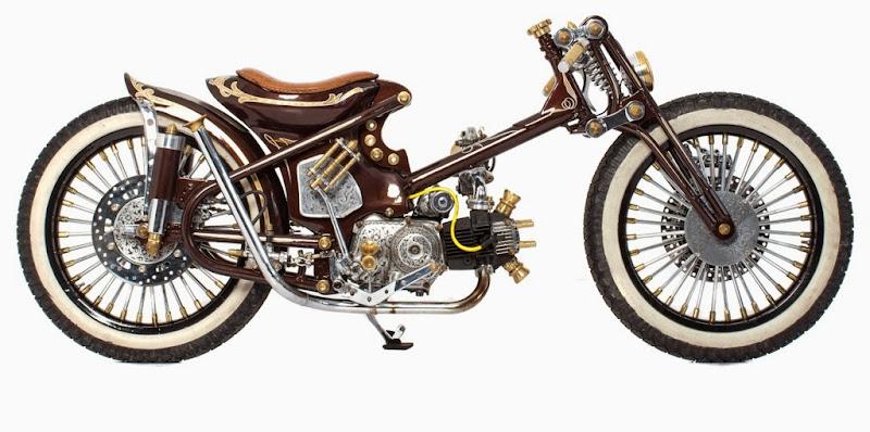 Dibawah ini adalah kumpulan gambar modifikasi Honda Astrea 800 Ceper  title=