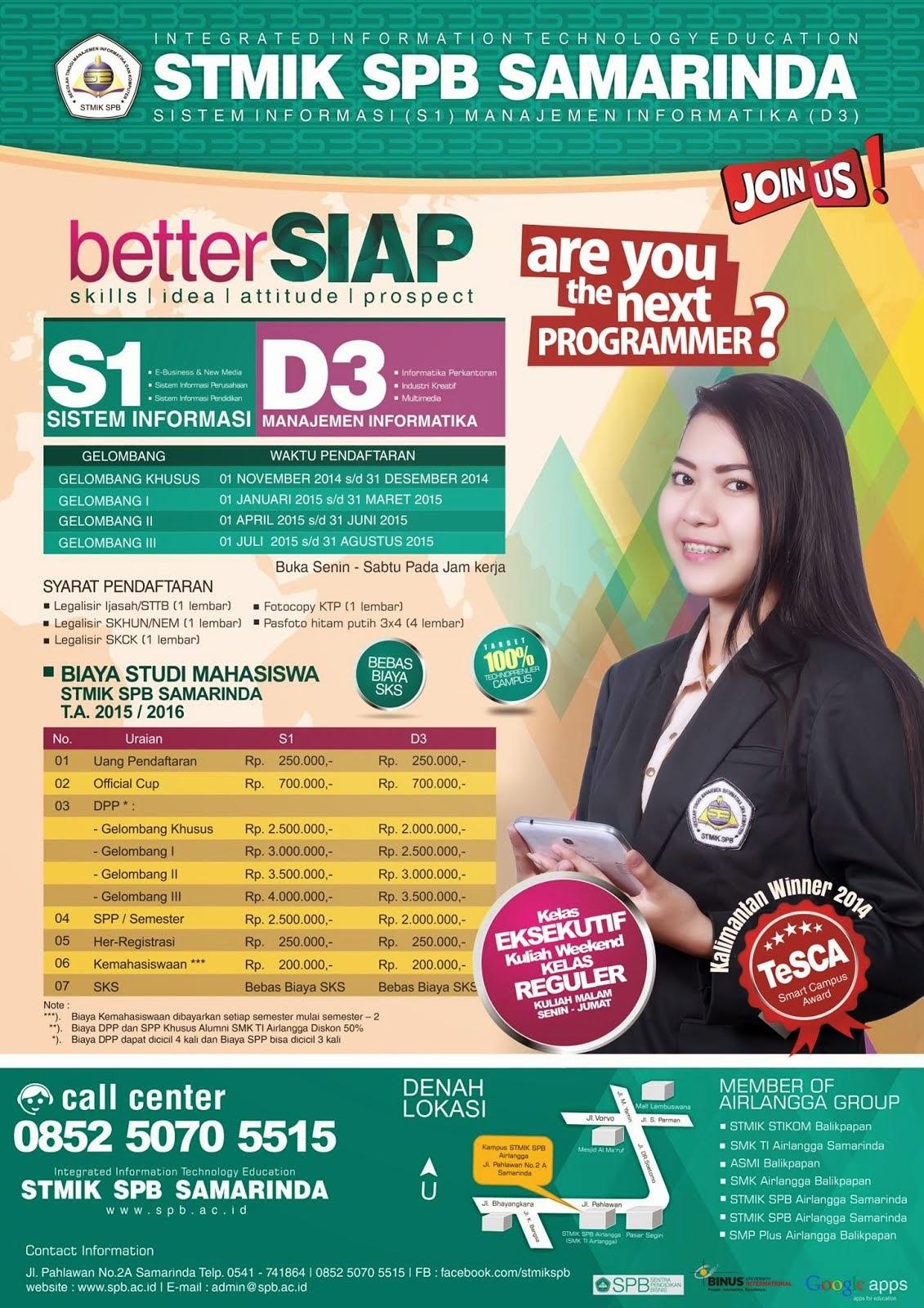 Download Brosur Penerimaan Mahasiswa Baru (PMB) Tahun Akademik 2015/2016