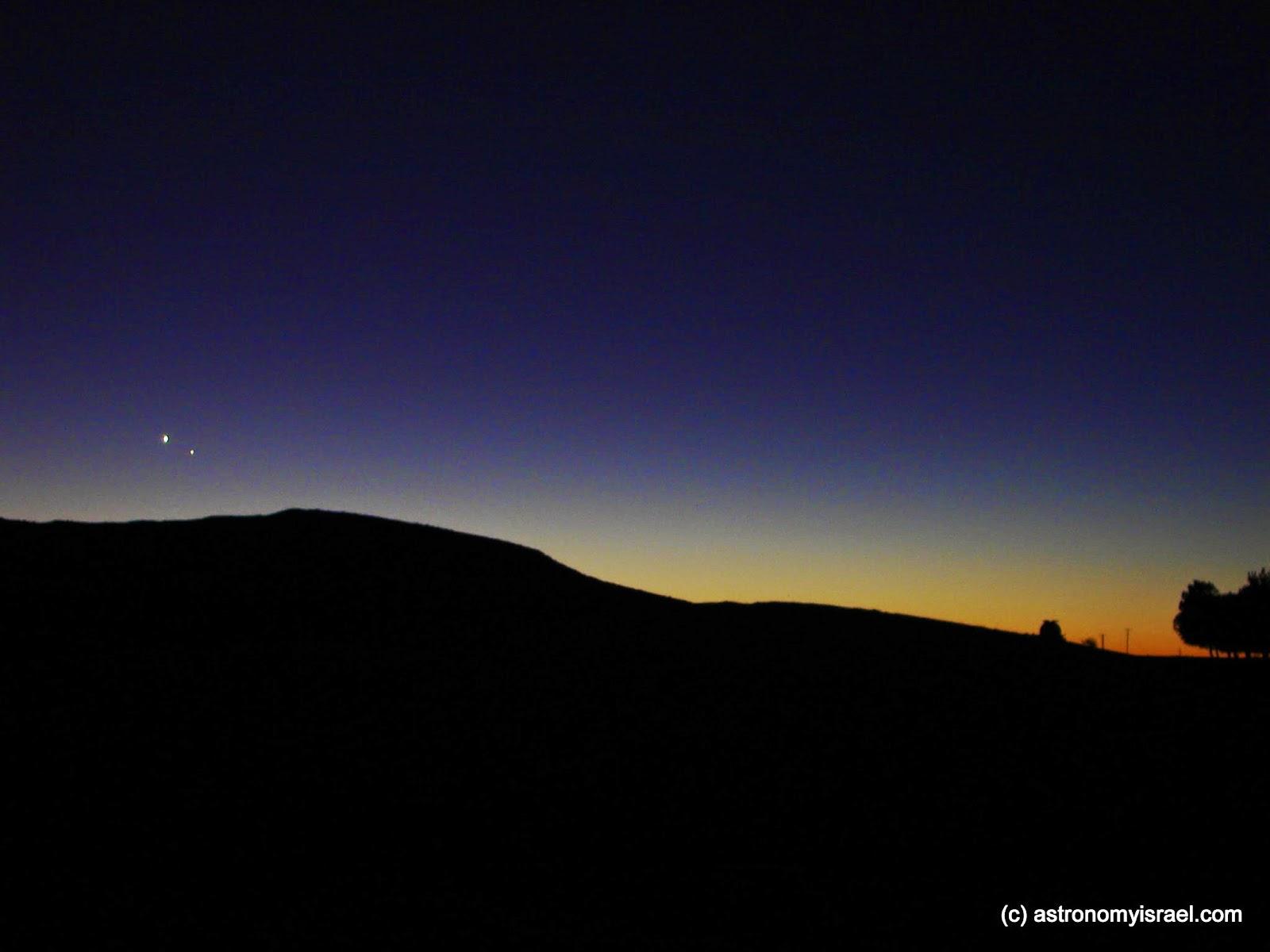 Venus Mercury Weiss Observatory Mitzpe Ramon