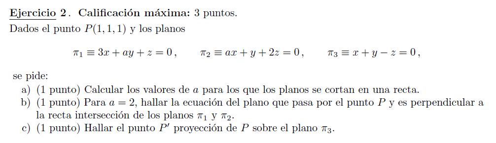 Selectividad PAU Madrid matemáticas modelo 2014