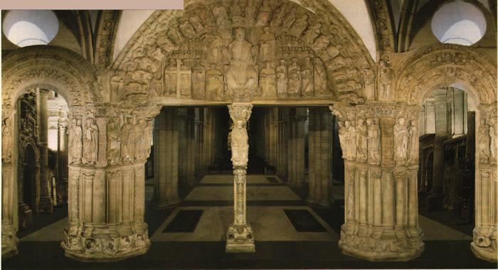 Historia del arte comentario p rtico de la gloria for Avvolgere l aggiunta portico