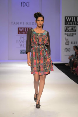 Tanvi Kedia at Wills Lifestyle India Fashion Week - Autumn Winter 2012 Day 5