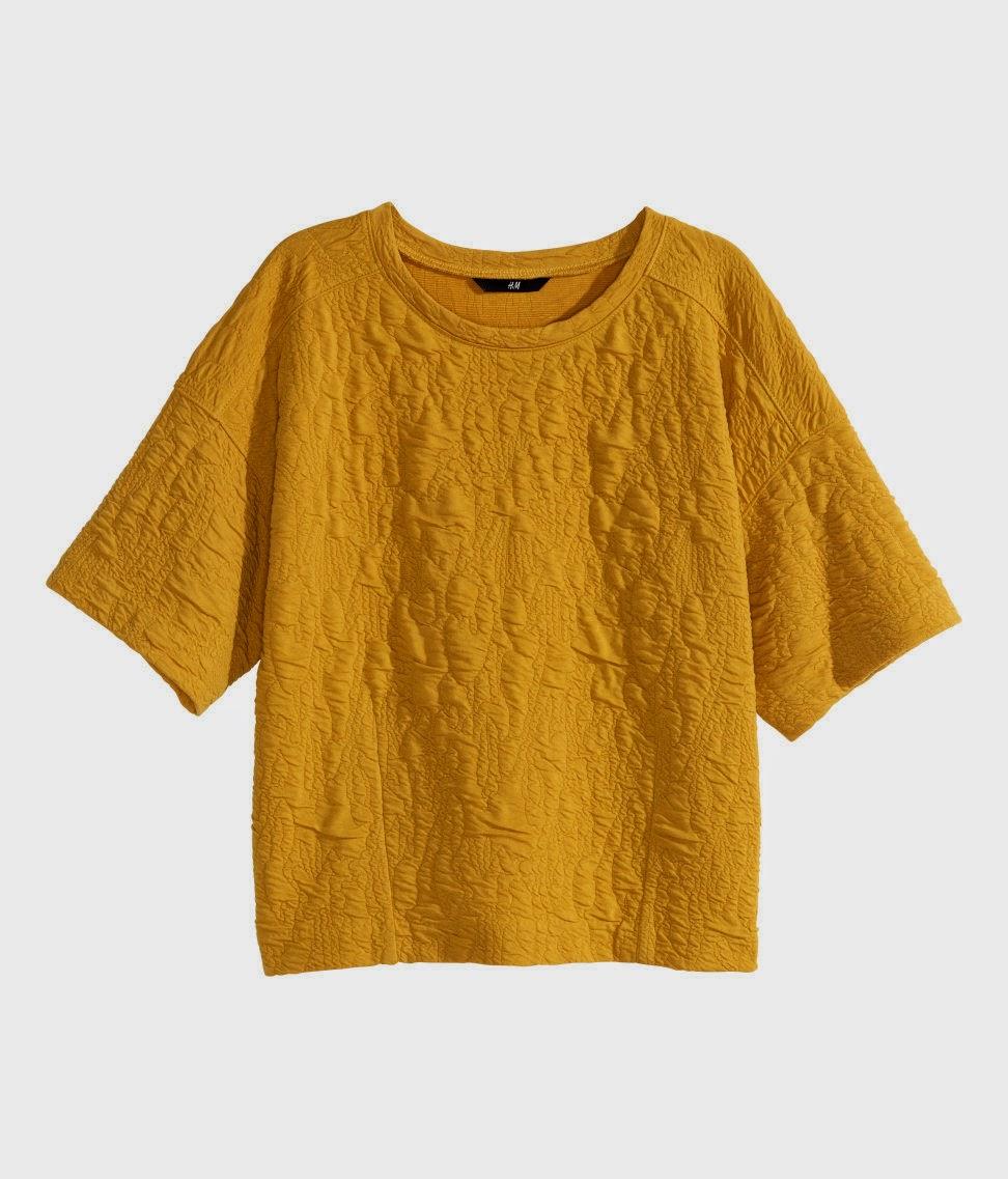 mustard hm top