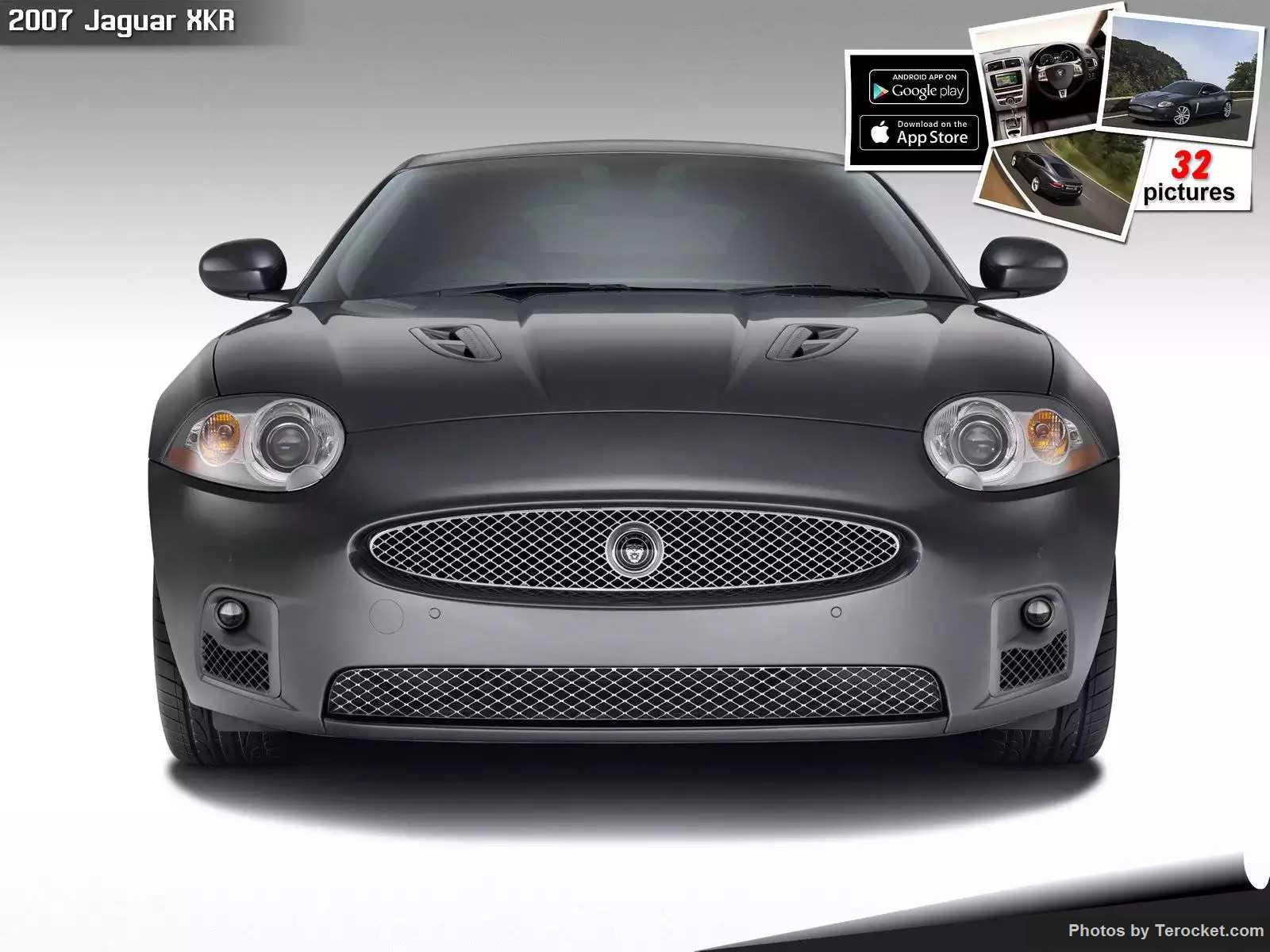 Hình ảnh xe ô tô Jaguar XKR 2007 & nội ngoại thất