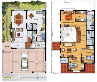 Duplex Plan 6 Townhomes Floor Plan at Prominence II at Brentville International Community